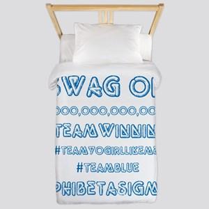 Phi Beta Sigma Swag Twin Duvet
